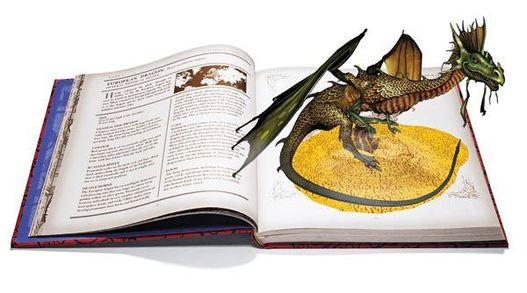 La réalité augmentée illustre un livre en 3D