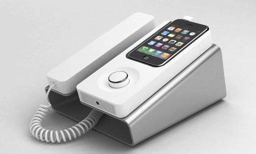 Desk Phone Dock - Le iTéléphone de Geek par excellence