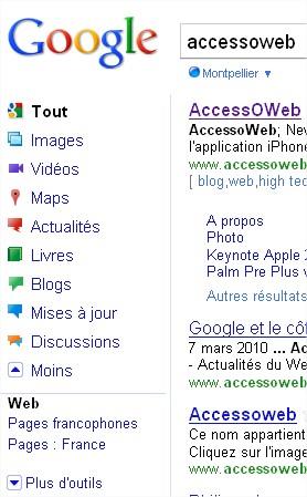 Le nouveau Google est en place