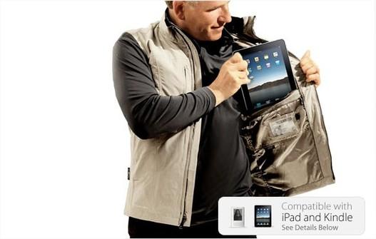 Comment transporter son iPad ? ... Dans son blouson