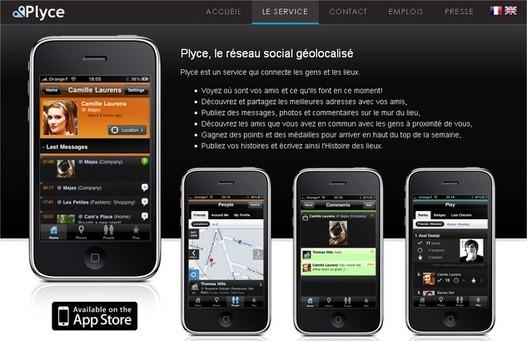 Plyce, le Foursquare européen, est lancé