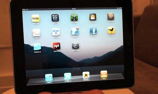 Test vidéo de l'iPad en français