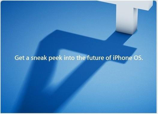 Keynote Apple iPhone OS 4 en direct live le 8 avril 2010