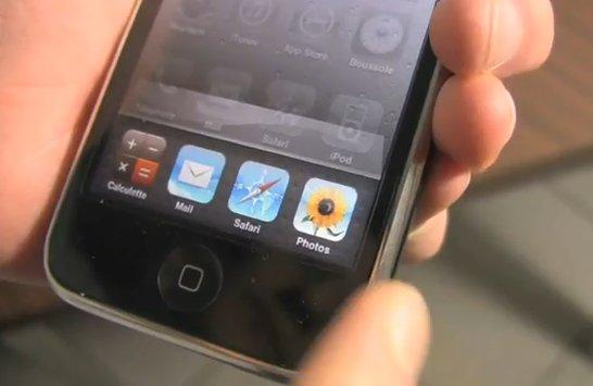 iPhone OS 4 - Démo vidéo du Multi Tâches