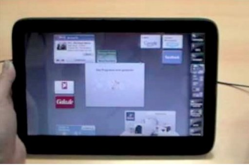 Démo vidéo de la WePad