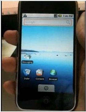 iDroid - Le Multi Touch arrive sur l'iPhone sous Android