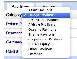 Exposition Universelle 2010 - Le plan complet de Google