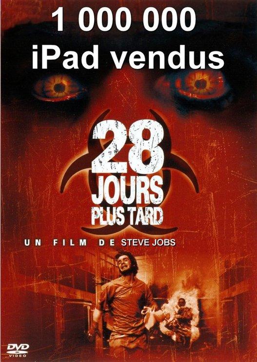 L'iPad ... 28 jours plus tard ...