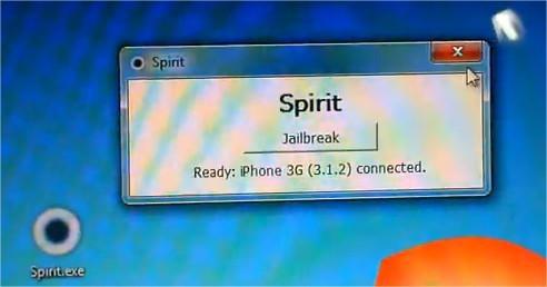 Spirit Jailbreak - Mise à jour