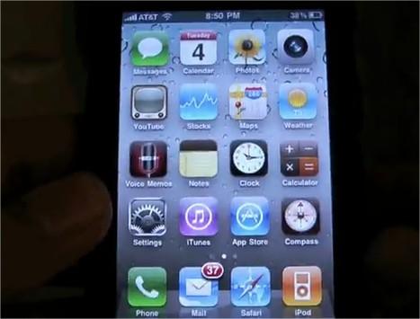 iPhone OS 4 Beta 3 - Démo Video