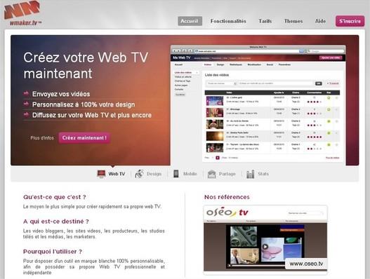 Créez votre Web TV avec WMaker.tv - La Web TV pour les Pros