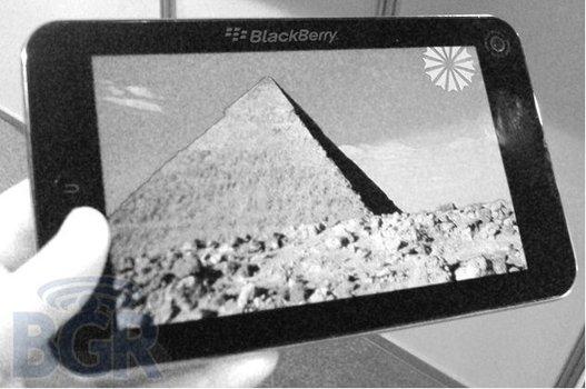 Une Tablette Blackberry pour décembre ?