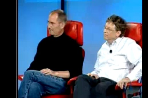 Bill Gates a parlé de l'iPad à Steve Jobs en 2007 ( video )