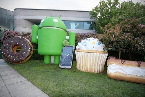 La peluche Android à San Francisco