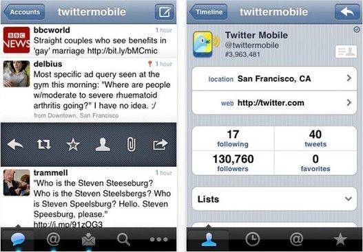 Twitter pour iPhone - Bien ou pas ?