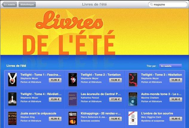 L'iBooks Store français est prêt