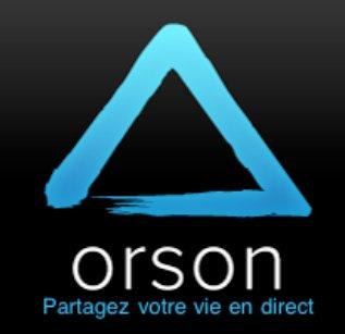Orson pour iPhone - Partagez votre vie en direct live