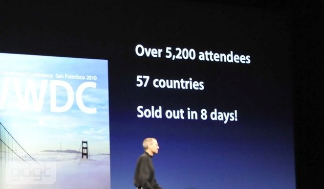 Live WWDC Juin 2010 Keynote Apple - Le résumé en direct