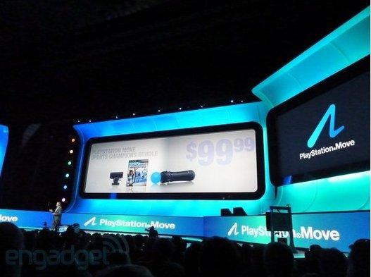 E3 2010 - Playstation Move - En France le 15 septembre 2010