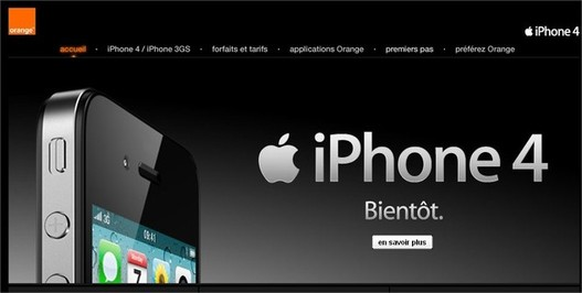 iPhone 4 - Orange le propose à 169 € pour ses clients
