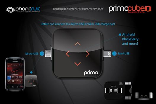 Rechargez votre téléphone avec PrimoCube