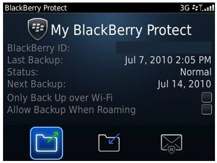 Blackberry Protect et Blackberry OS 6