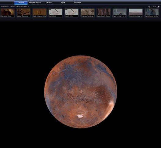 Exploration de MARS grâce à Microsoft et la NASA