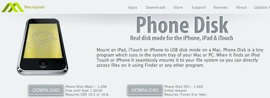 iPhone Video Convertor et Phone Disk actuellement gratuit