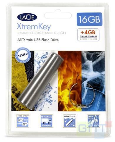LaCie XtremKey - Une clé usb petite mais costaud