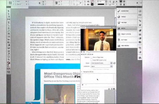 Le futur du journaliste avec Adobe Digital Magazine Workflow