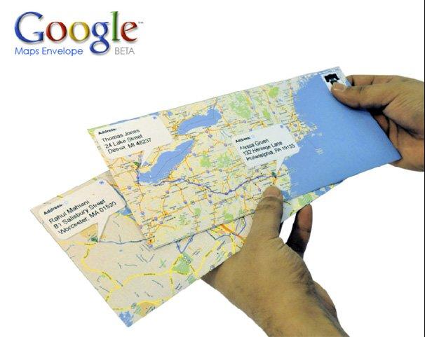Google Mail Enveloppe