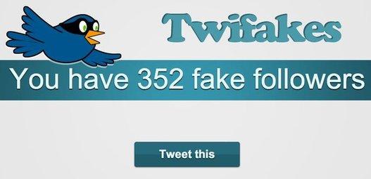 (MàJ) Combien avez vous de faux followers sur Twitter ? C'est bidon ...