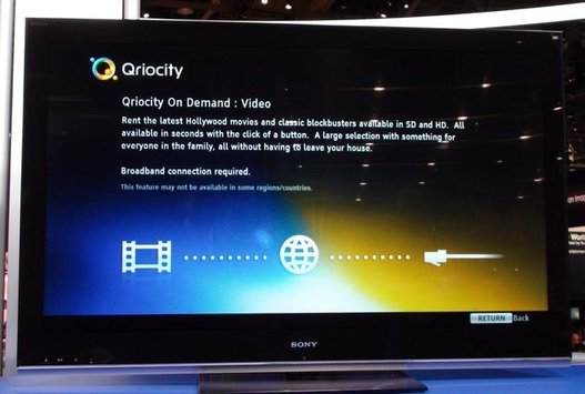 Sony annonce un tueur d'iTunes avec Qriocity