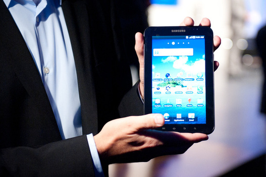 IFA 2010 - La Samsung Galaxy Tab est dans la place
