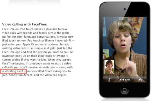 Le nouvel iPod Touch va vous faire vibrer !