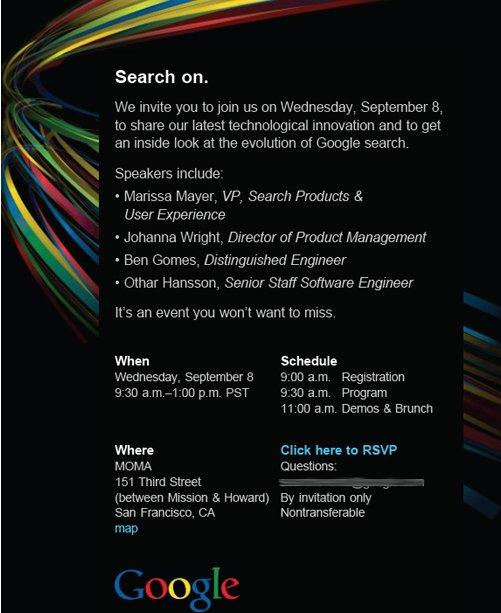 Que va til se passer sur Google Search ce soir ?