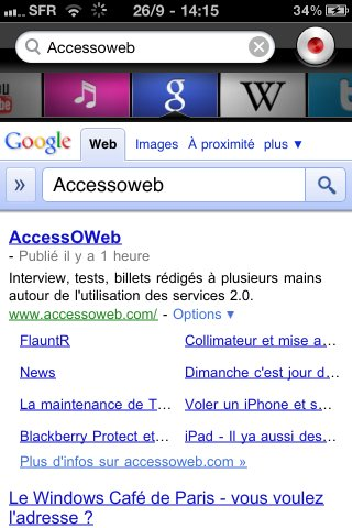 Dragon Dictation et Dragon Search sur iPhone
