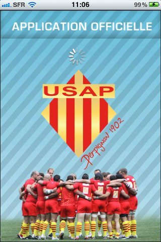 L'application USAP Officiel est disponible sur iPhone
