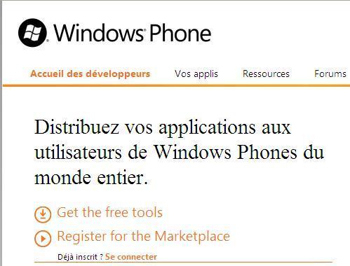 Windows Phone 7 - Le SDK est en phase de finalisation