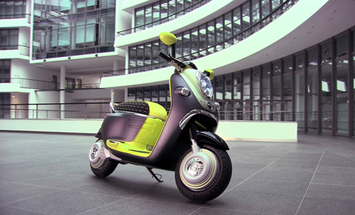 Démarrer son scooter avec un iPhone