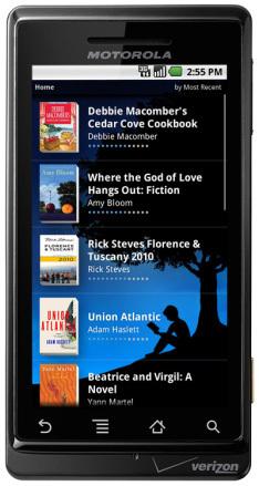 Des nouveautés sur l'application Kindle pour Android