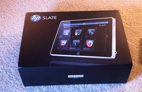 HP Slate - Le déballage en vidéo