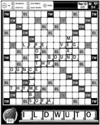 Jouer au Scrabble sur le Kindle