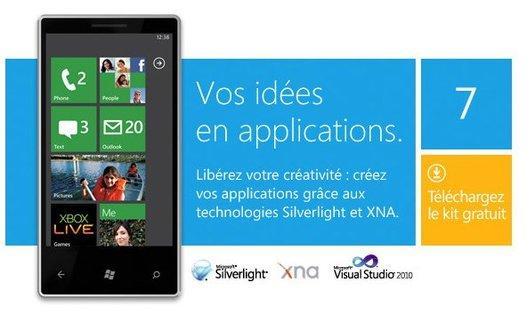 """Windows Phone 7 - Suivez la finale du concours """"Pitch your App"""" dès maintenant en live !"""