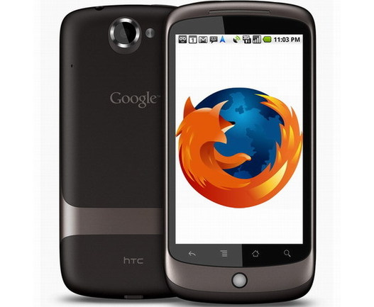 Firefox 4  bêta version mobile envahit Android et Maemo