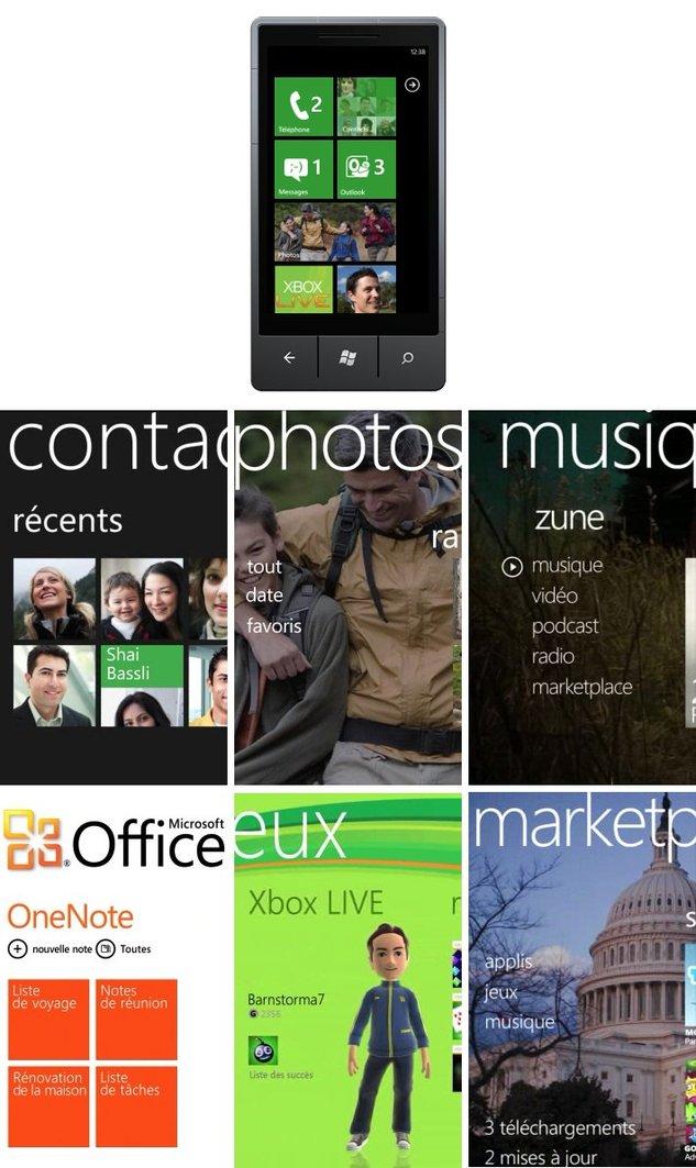 Windows Phone 7 - Présentation chez Microsoft France