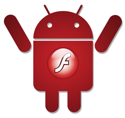 Flash sur Android - déjà un million de téléchargements