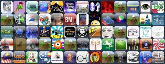 Apple - 300000 applications et une action qui grimpe encore