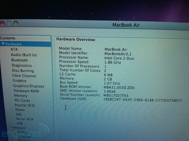 Keynote Apple du 20 Octobre - Deux nouveaux MacBook Air