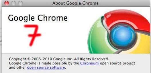 Télécharger Google Chrome 7